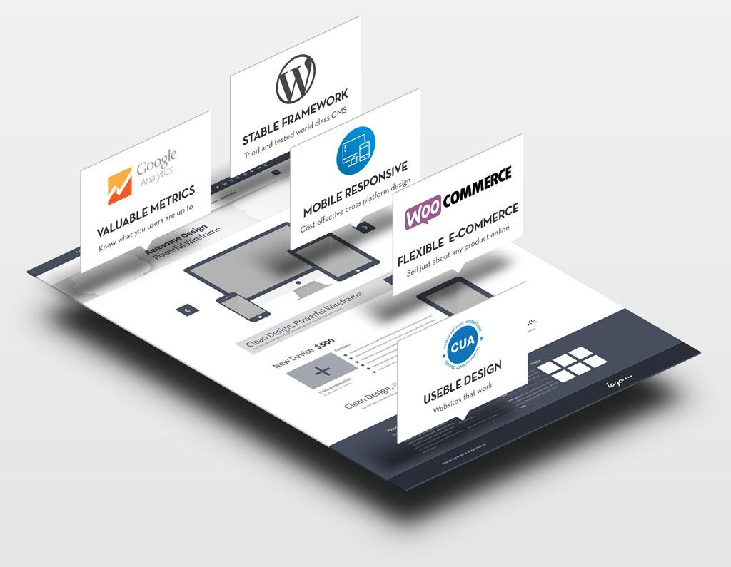 Web Design Presentation Image