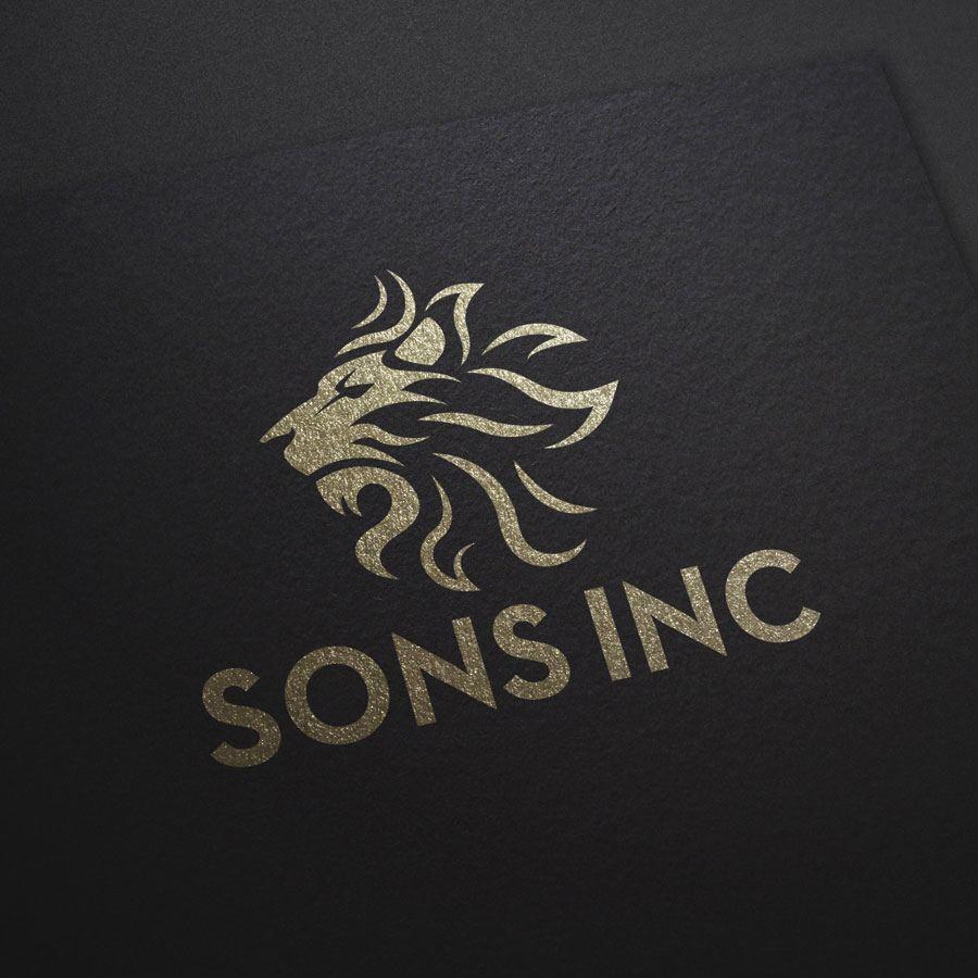 Sons Inc Logo Mockup image